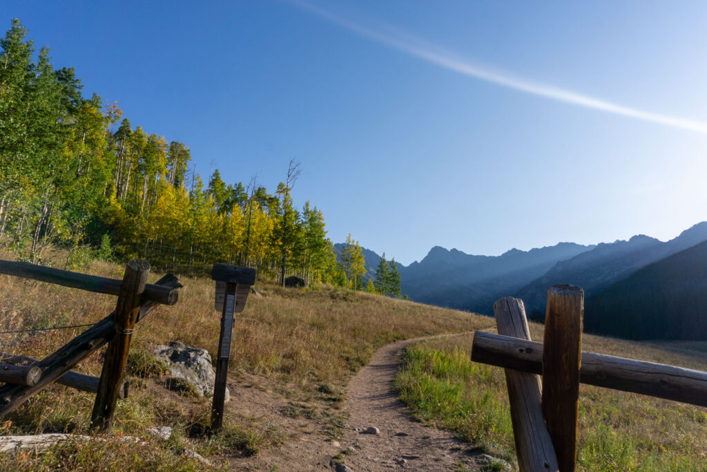 Upper Piney Lake Trail at Piney River Ranch, Colorado